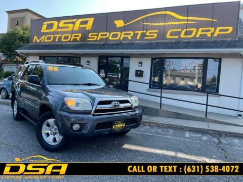 2008 Toyota 4Runner for sale at DSA Motor Sports Corp in Commack NY