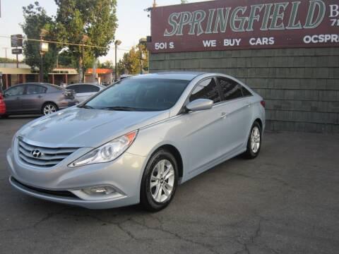 2013 Hyundai Sonata for sale at SPRINGFIELD BROTHERS LLC in Fullerton CA