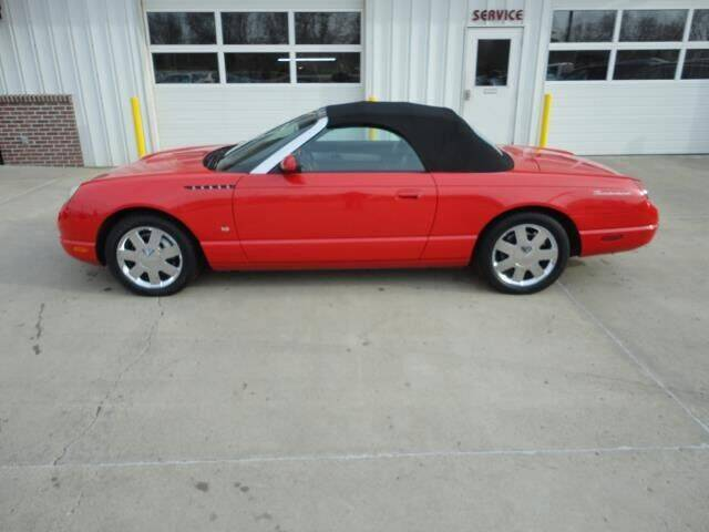 2003 Ford Thunderbird for sale at Quality Motors Inc in Vermillion SD
