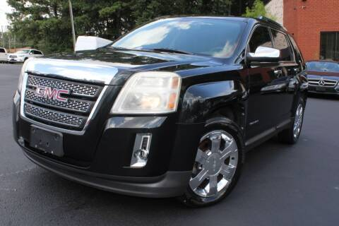 2010 GMC Terrain for sale at Atlanta Unique Auto Sales in Norcross GA