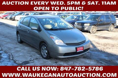 2004 Toyota Prius for sale at Waukegan Auto Auction in Waukegan IL