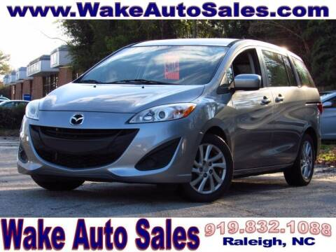 2012 Mazda MAZDA5 for sale at Wake Auto Sales Inc in Raleigh NC