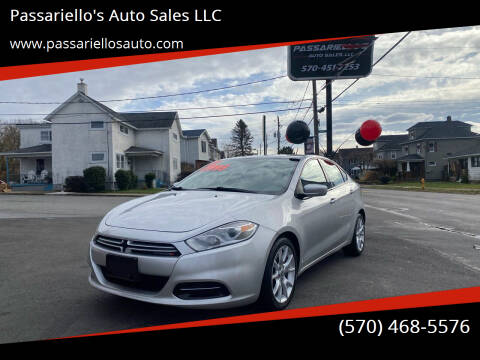 2013 Dodge Dart for sale at Passariello's Auto Sales LLC in Old Forge PA