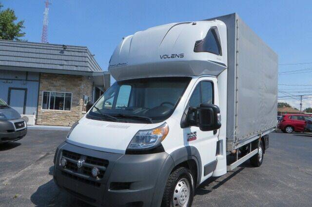 2018 RAM ProMaster Cutaway Chassis for sale at Eddie Auto Brokers in Willowick OH
