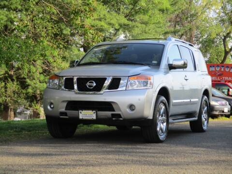 2010 Nissan Armada for sale at Loudoun Used Cars in Leesburg VA