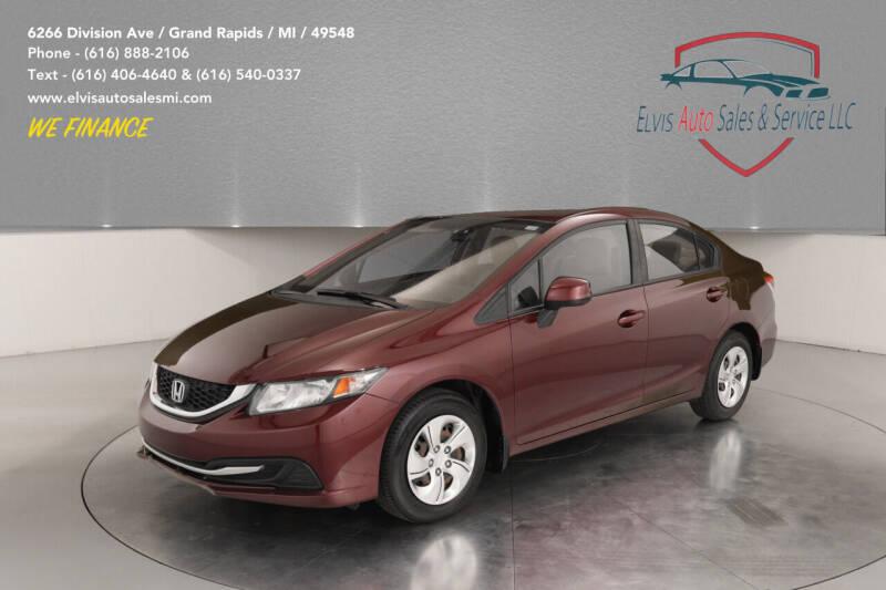 2013 Honda Civic for sale at Elvis Auto Sales LLC in Grand Rapids MI