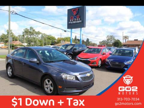 2014 Chevrolet Cruze for sale at Go2Motors in Redford MI