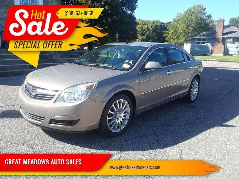 2007 Saturn Aura for sale at GREAT MEADOWS AUTO SALES in Great Meadows NJ