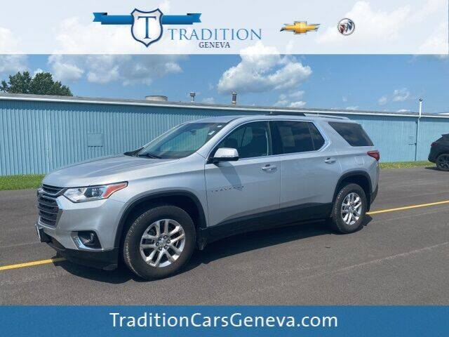 2018 Chevrolet Traverse for sale at Tradition Chevrolet Buick in Geneva NY