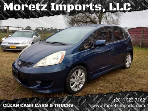 2009 Honda Fit for sale at Moretz Imports, LLC in Spring TX