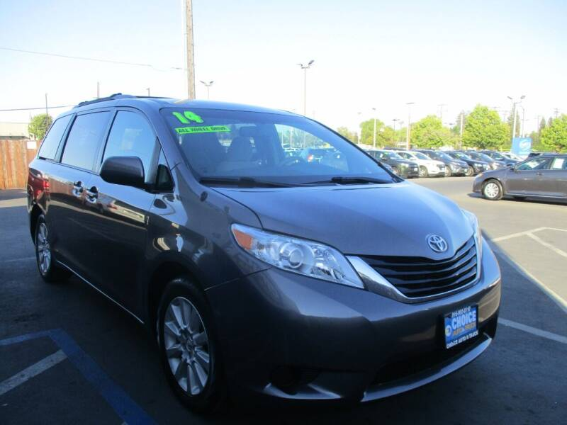 2014 Toyota Sienna for sale at Choice Auto & Truck in Sacramento CA