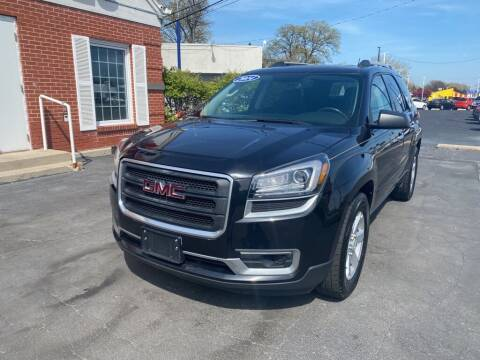 2014 GMC Acadia for sale at Motornation Auto Sales in Toledo OH