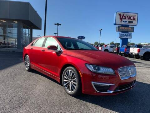 2020 Lincoln MKZ for sale at Vance Fleet Services in Guthrie OK
