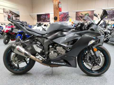 2019 Kawasaki Ninja ZX-6R