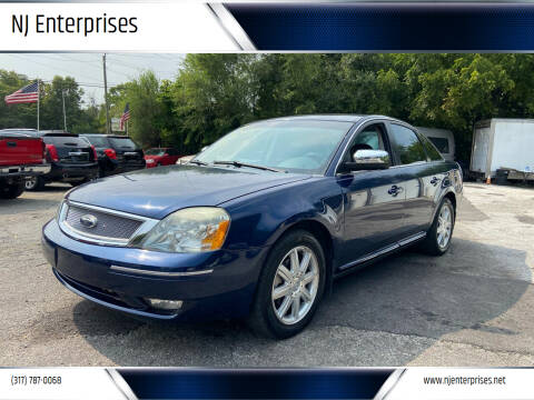 2007 Ford Five Hundred for sale at NJ Enterprises in Indianapolis IN