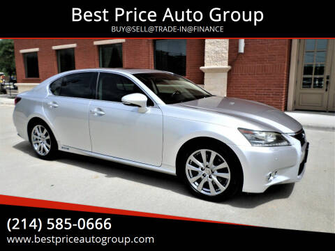 2013 Lexus GS 450h for sale at Best Price Auto Group in Mckinney TX