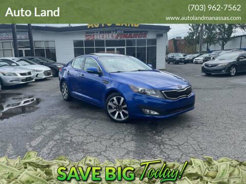2012 Kia Optima for sale at Auto Land in Manassas VA