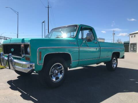 1976 Chevrolet C/K 20 Series for sale at Pool Auto Sales in Hayden ID