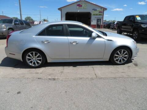 2012 Cadillac CTS for sale at Jefferson St Motors in Waterloo IA