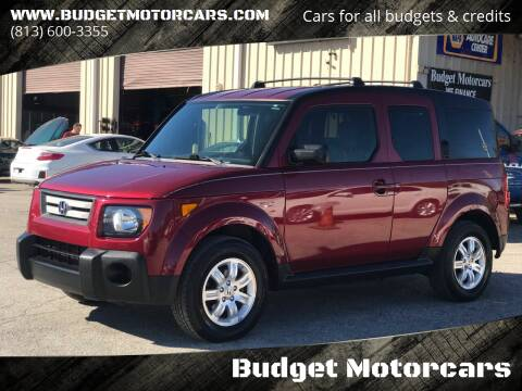 2008 Honda Element for sale at Budget Motorcars in Tampa FL