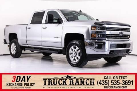 2015 Chevrolet Silverado 2500HD for sale at Truck Ranch in Logan UT