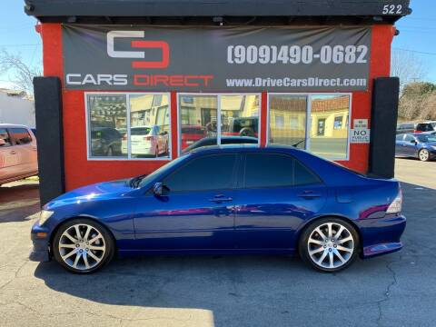 2001 Lexus IS 300 for sale at Cars Direct in Ontario CA