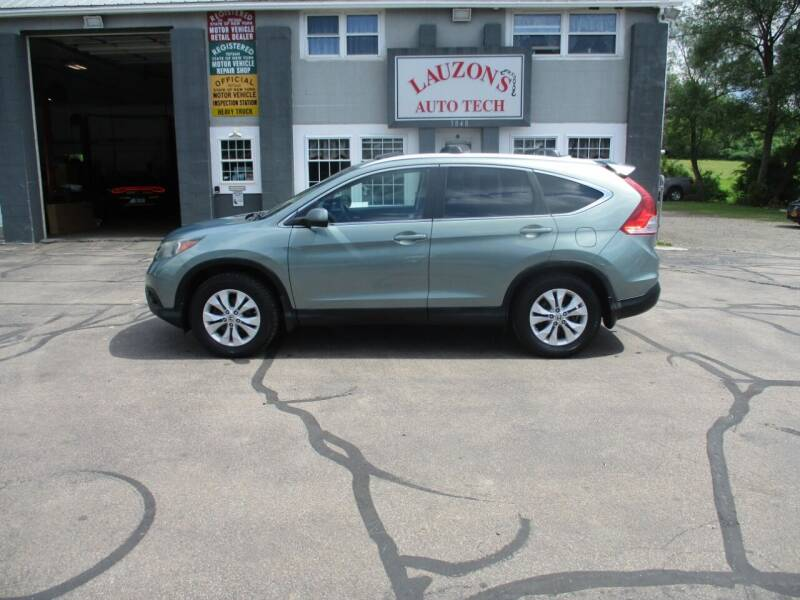 2012 Honda CR-V for sale at LAUZON'S AUTO TECH TOWING in Malone NY