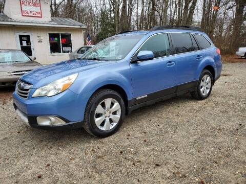 2010 Subaru Outback for sale at Ray's Auto Sales in Elmer NJ