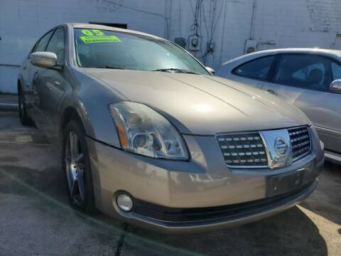2005 Nissan Maxima for sale at USA Auto Brokers in Houston TX