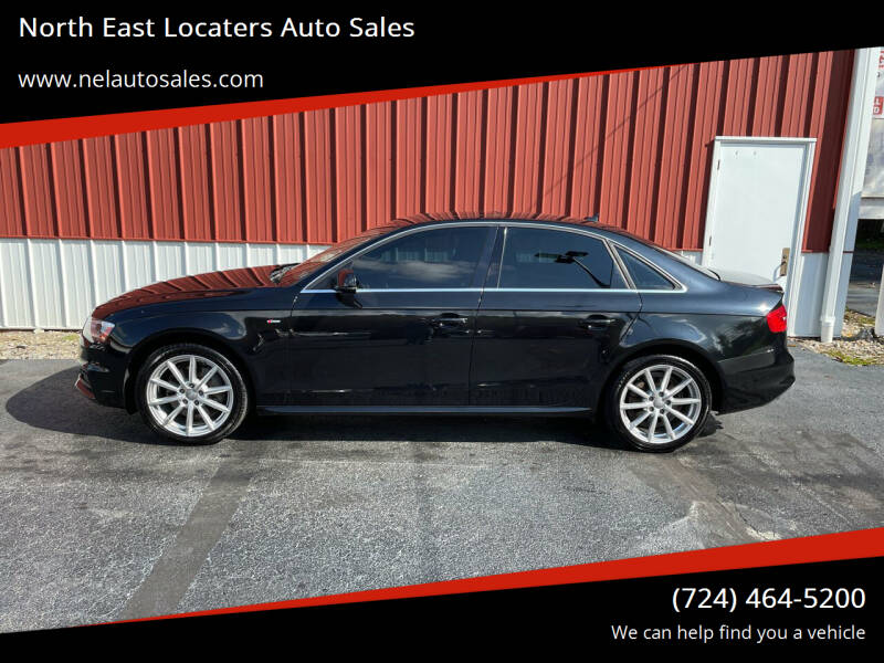 2014 Audi A4 for sale at North East Locaters Auto Sales in Indiana PA