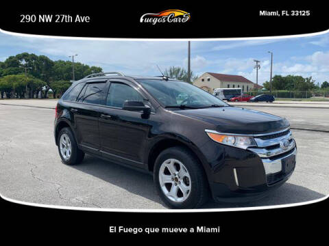 2013 Ford Edge for sale at Fuego's Cars in Miami FL