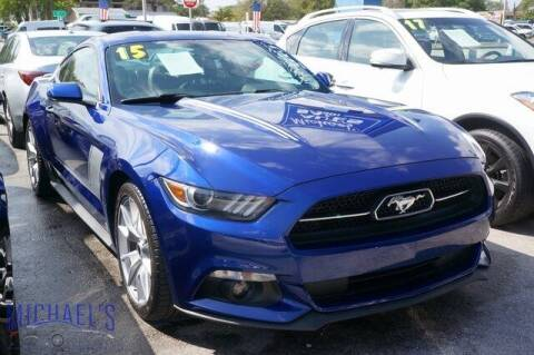 2015 Ford Mustang for sale at Michael's Auto Sales Corp in Hollywood FL