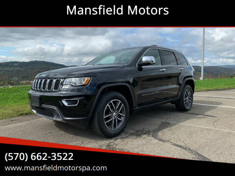 2018 Jeep Grand Cherokee for sale at Mansfield Motors in Mansfield PA