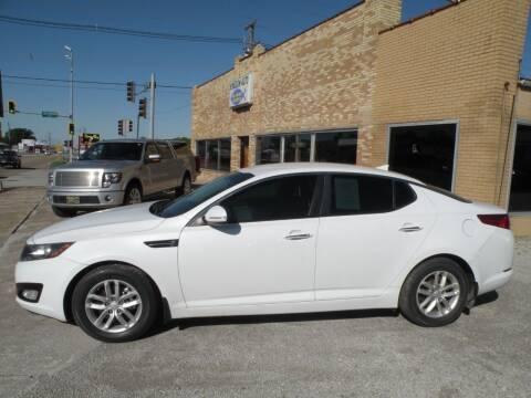 2012 Kia Optima for sale at Kingdom Auto Centers in Litchfield IL