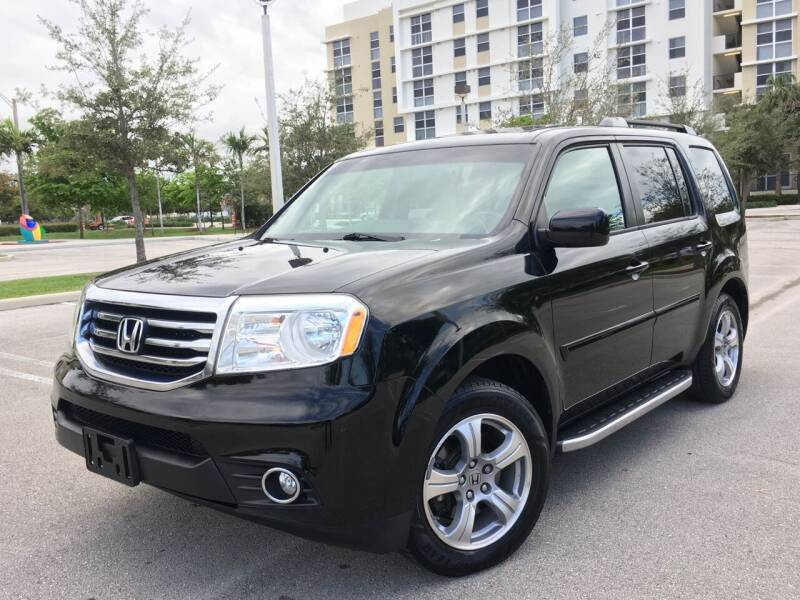 2012 Honda Pilot for sale at FIRST FLORIDA MOTOR SPORTS in Pompano Beach FL