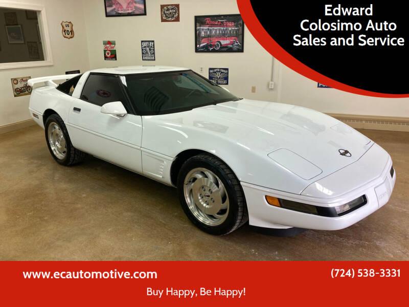 1995 Chevrolet Corvette for sale in Evans City, PA