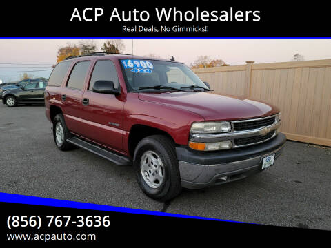2006 Chevrolet Tahoe for sale at ACP Auto Wholesalers in Berlin NJ