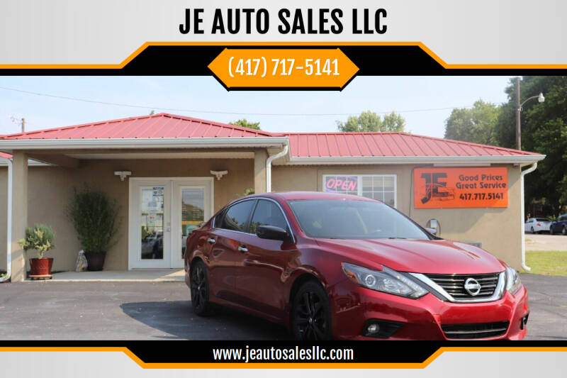 2017 Nissan Altima for sale at JE AUTO SALES LLC in Webb City MO