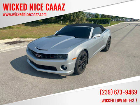2011 Chevrolet Camaro for sale at WICKED NICE CAAAZ in Cape Coral FL