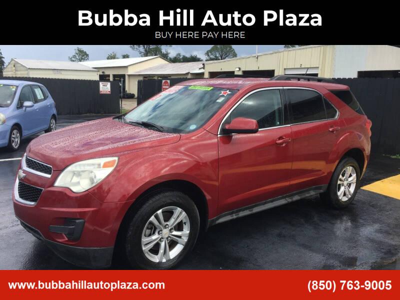 2013 Chevrolet Equinox for sale at Bubba Hill Auto Plaza in Panama City FL