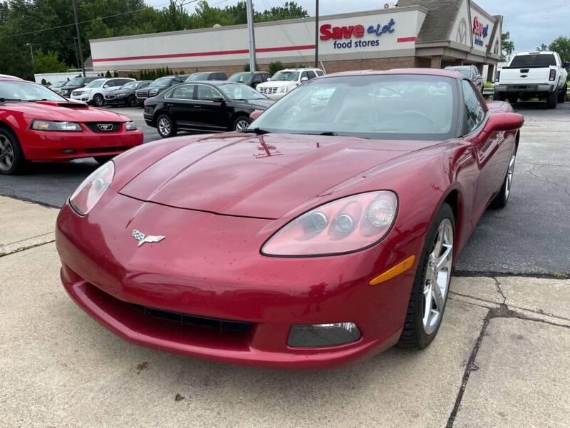 2008 Chevrolet Corvette for sale at TKP Auto Sales in Eastlake OH