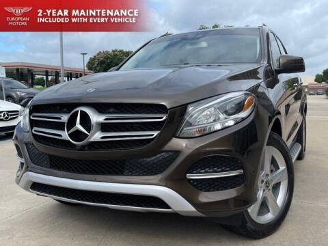 2017 Mercedes-Benz GLE for sale at European Motors Inc in Plano TX