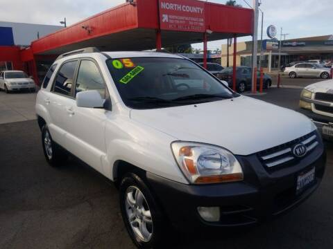 2005 Kia Sportage for sale at North County Auto in Oceanside CA
