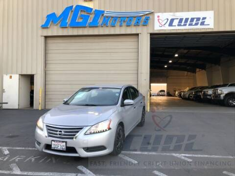 2013 Nissan Sentra for sale at MGI Motors in Sacramento CA