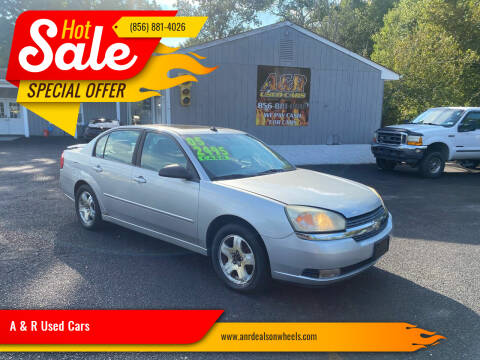 2005 Chevrolet Malibu for sale at A & R Used Cars in Clayton NJ