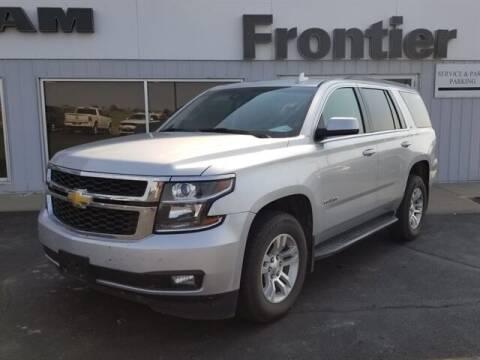 2016 Chevrolet Tahoe for sale at Frontier Motors Automotive, Inc. in Winner SD
