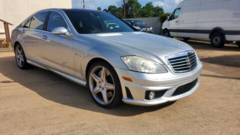 2008 Mercedes-Benz S-Class for sale at Zora Motors in Houston TX