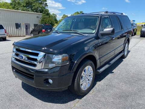 2011 Ford Expedition EL for sale at Brewster Used Cars in Anderson SC