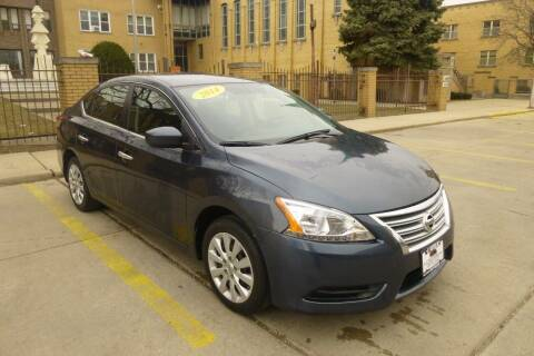 2014 Nissan Sentra for sale at A1 Motors Inc in Chicago IL