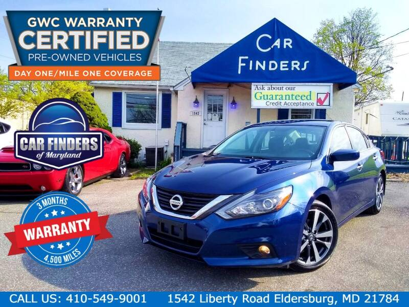 2016 Nissan Altima for sale at CAR FINDERS OF MARYLAND LLC - Certified Cars in Eldersburg MD